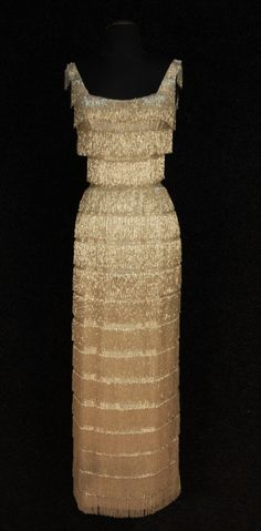 omgthatdress:  Evening Dress 1960s Whitaker Auctions