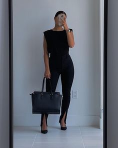 Look Casual Chic, How To Look Classy, Cute Casual Outfits, Chic Outfits, Winter Fashion Outfits, Work Fashion, Business Outfits Women, Corporate Attire, Receptionist