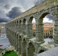 Roman Aquaduct Segovia