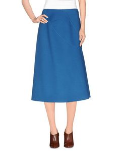 JIL SANDER 3/4 Length Skirt. #jilsander #cloth #skirt