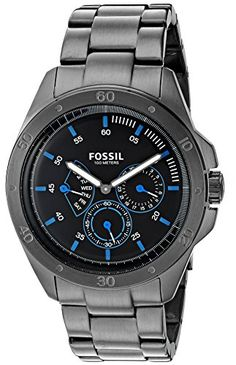 Fossil Men's Quartz Stainless Steel Casual Watch, Color:Grey (Model: CH3035)