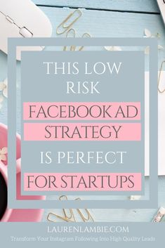 Want to scale your startup rapidly with Facebook ads but worried about the risks involved? This is the perfect strategy for new businesses to get their promotions working the right way to help grow their business with advertising #facebookads #advertising #startups How To Use Facebook, Like Facebook, Facebook Business, Facebook Marketing, Affiliate Marketing, Online Marketing, Business Marketing, Digital Marketing, Marketing Pdf
