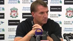 Watch Brendan Rodgers' pre-Liverpool v West Brom press conference #LFC