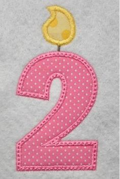 All Designs :: 2015 Design Sale :: Birthday Candle Numbers