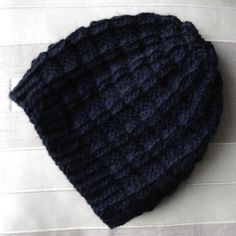 Bonnet damier / DIY tricoter un bonnet