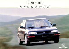 Honda Concerto Spain Brochure 1994