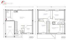 Plan Maison 100m2 A Etage Menuiserie Plan Maison 100m2 Maison 100m2 Plan Maison