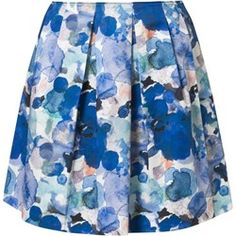 Marc O'Polo Spódnica plisowana niebieski