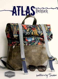 Atlas Rucksack - Swoon Sewing Patterns