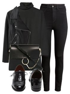 """""""Untitled #4901"""" by laurenmboot ❤ liked on Polyvore featuring H&M, Marni, Acne Studios, Chloé and Mulberry"""