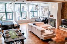 Old Mtl: Spacious & Modern Loft Beside Notre Dame - Departamentos en alquiler en Montreal, Québec, Canadá