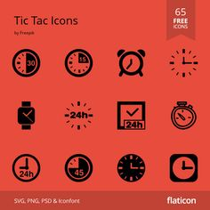 Tic Tac Icons