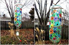 Decorative wine bottle ideas