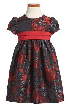 Luli & Me Red Sash Dress (Toddler Girls) available at #Nordstrom