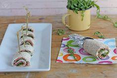Cómo hacer Wraps o Rollitos de salmón paso a paso
