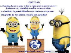 Equidad vs Igualdad www.facebook.com/CN7600