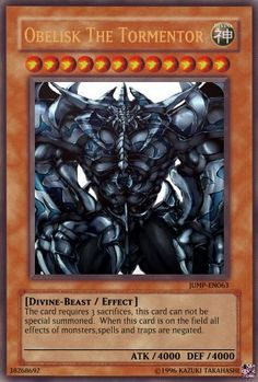 Yu-Gi-Oh Card