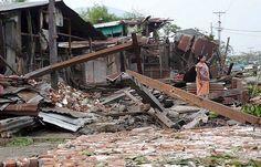 Ciclón Nargis en Birmania en 2008 (138.000 muertos)
