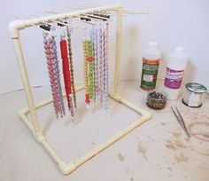 Image of completed Drying Rack