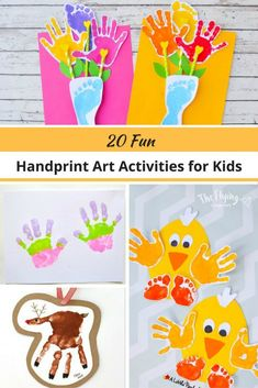 20 Fun Handprint Art Activities for Kids. The Flying Couponer.