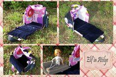 Leather Side изделия из кожи: Сумка -дом для куклы.