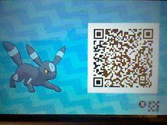 Hime-chan as a Shiny Umbreon! + Pokemon Sun Moon QR code!