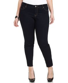 Jessica Simpson Plus Size Jeans, Kiss Me Jeggings, Enzyme Rinse Wash   Web ID: 744141