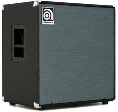 600-watt, 2 x 12' Bass Speaker Cabinet, with 2 x 12' Eminence LF Drivers, 1' Compression Driver, 4-ohm Impedance, and 15mm Poplar-ply Construction