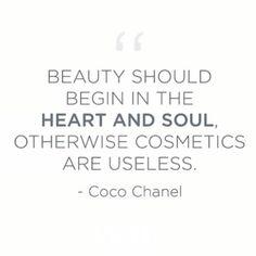 Preach! #Chanel #innerbeauty #quotes #coco #qotd