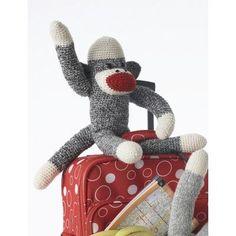 Basic Crochet Sock Monkey