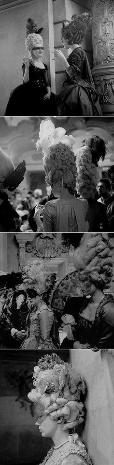 Marie Antoinette (2006, Dir. Sofia Coppola)   Behind the scenes: Masquerade Ball