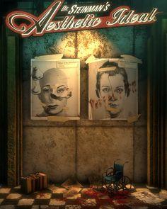 ArtStation - BioShock (Irrational Games), Digital Frontiers Bioshock 2, Bioshock Infinite, Bioshock Artwork, Bioshock Rapture, Bioshock Series, Cool Games Online, Vampire Masquerade, Alien Isolation, Beyond The Sea
