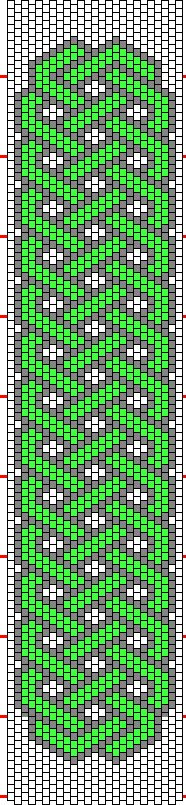 celta - a bead chart that may look good in tapestry crochet...