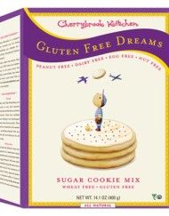 The cute packaging alone makes this gluten-free baking mix a winner. Cherrybrook Kitchen products are not only gluten-free, but peanut-, dairy-, egg-, and Gluten Free Baking Mix, Gluten Free Sugar Cookies, Gluten Free Cakes, Allergy Free Recipes, Gourmet Recipes, Nut Free, Dairy Free, Foods With Gluten, Desserts