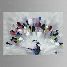 Peacock Wall Art Canvas Print Ready To Hang 75*100cm 4591806 2016 – $154.28