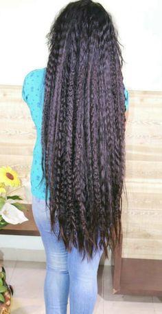 Easy Hairstyles For Long Hair, Long Hair Cuts, Long Hair Styles, Ayurveda For Hair Loss, Hair Wings, Bandana Bow, Super Long Hair, Fall Hair, Sweetie Belle