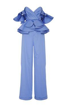 Azucena Jumpsuit by Johanna Ortiz for Preorder on Moda Operandi
