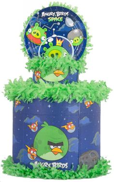 World of Pinatas - Angry Birds Space Pinata, $27.99 (http://www.worldofpinatas.com/angry-birds-space-pinata/)