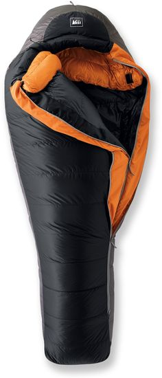 """REI Expedition -20 Sleeping Bag    """" I used this all last year in Montana mountain winter.  The only time I was cold was on a survival night without a sleeping pad or tent."""""""