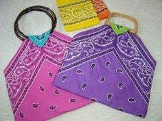 Bolsos en tela de pañoletas