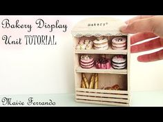 Miniature French Bakery Inspired Display Unit Tutorial - YouTube