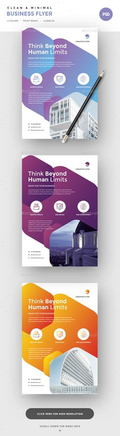 Corporate Flyers by SUPERBOY1 Features3 Design Variations Images are Smart Objects Easy editable text CMYK @ 300 DPI �20Print-ready. Perfectly Aligned Organised
