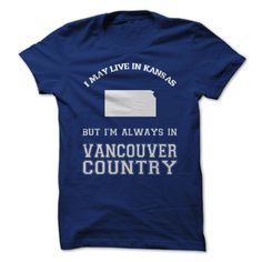 Kansas For Vancouver 【title】 CountryWear this shirt proudly and represent your state!vancouver cannucks