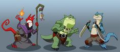 Kobolds by chief-orc on deviantART