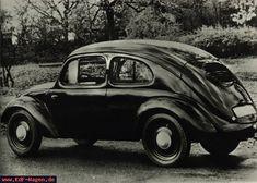VW - 1938 - (vw_t1) - KdF-Wagen Typ 3 Limousine von schräg hinten - [5290]-1