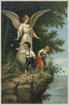 Guardian angel - watch over us - now and forever
