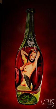 Lady Luck - Original Artwork http://www.rockstargallery.net/stacey-wells #marilynmonroe