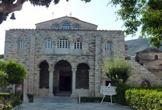 Paros - Panagia Ekatondapyliani (vierge aux cent portes) Paros, Mansions, House Styles, Home Decor, Virgo, Decoration Home, Room Decor, Fancy Houses, Mansion