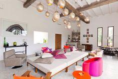 Intérieur ❤ couleurs & ethnic-chic, maison d'été à Ibiza