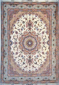 Tabriz Silk Persian Rug | Exclusive collection of rugs and tableau rugs - Treasure Gallery Tabriz Silk Persian Rug You pay: $2,900.00 Retail Price: $7,900.00 You Save: 63% ($5,000.00) Item#: 1014 Category: Small(3x5-5x8) Persian Rugs Design: Shiva Size: 212 x 152 (cm) 6' 11 x 4' 11 (ft) Origin: Persian, Tabriz Foundation: Silk Material: Wool & Silk Weave: 100% Hand Woven Age: Brand New KPSI: 500
